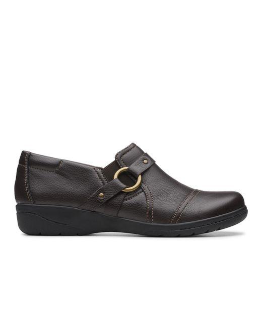 Clarks Brown Cheyn Fame Shoe