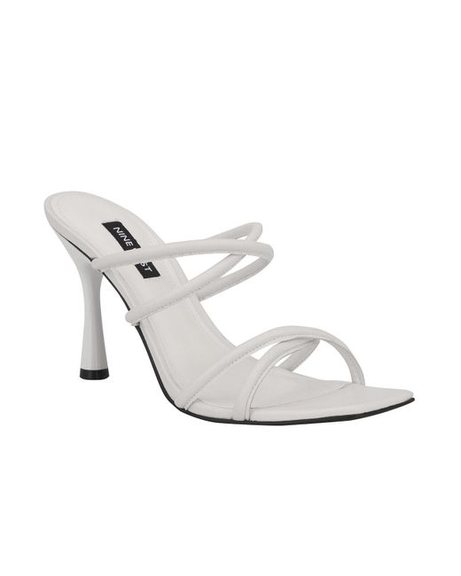 Nine West White Fabiola Dress Shoe