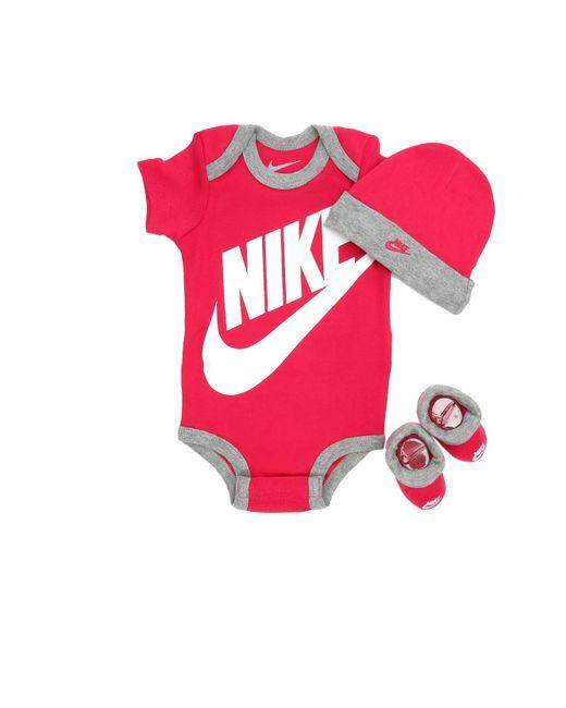 Nike Pink Futura 3 Piece Set