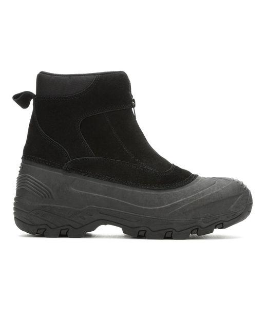 London Fog Black Holborn Duck Boot for men
