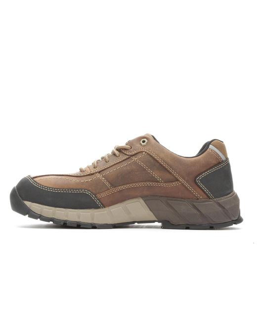 Caterpillar Natural Streamline Leather Composite Toe Boot for men