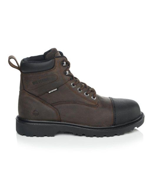 Wolverine Brown Rig Steel Toe Boot for men