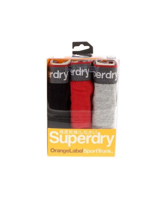 Superdry | Multicolor Sport Trunk Triple Pack for Men | Lyst