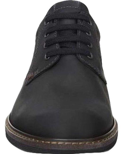 1bf30641b9 Lyst - Ecco Turn Gore-tex Plain Toe Tie in Black for Men