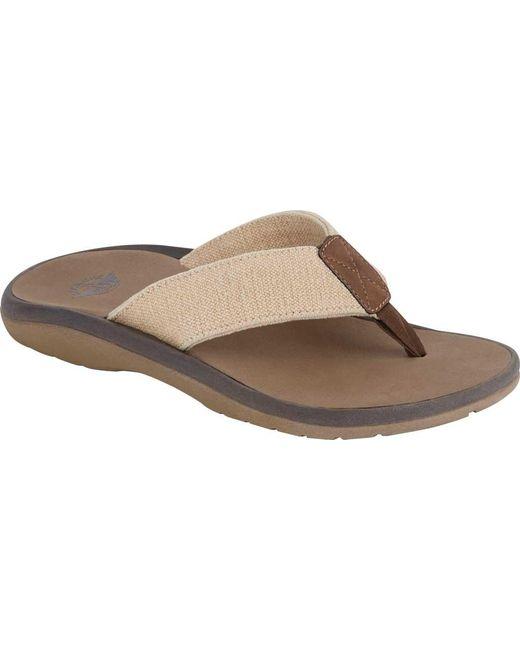 800aa0f18474 Dockers - Natural Skipper Thong Sandal for Men - Lyst ...