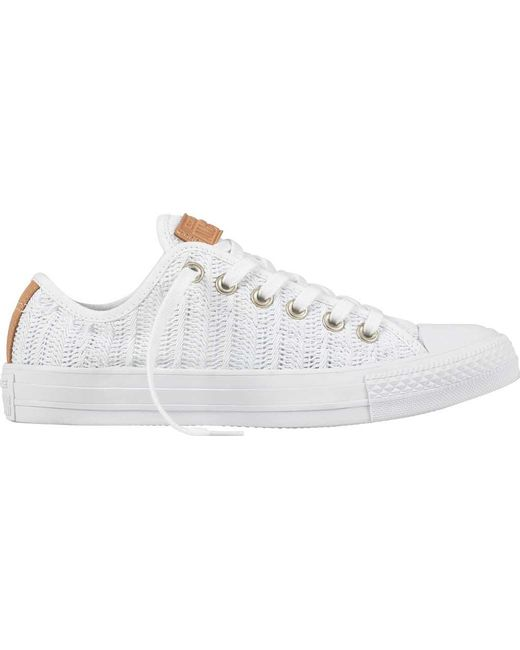 converse chuck taylor all star herringbone mesh ox