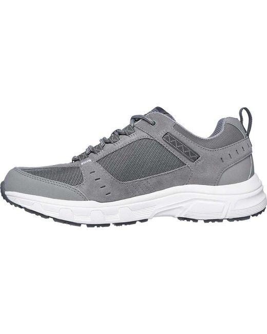 b16e7cf9ed76 ... Skechers - Gray Relaxed Fit Oak Canyon Sneaker for Men - Lyst ...