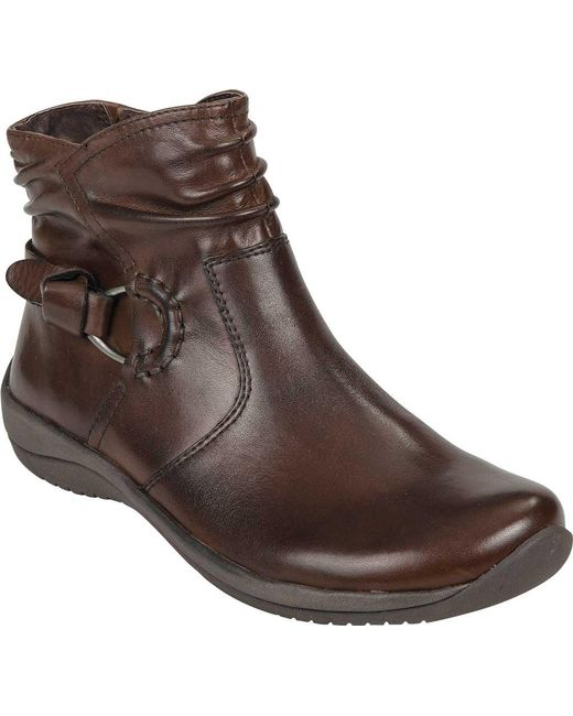 Earth - Brown Watson Ankle Boot - Lyst