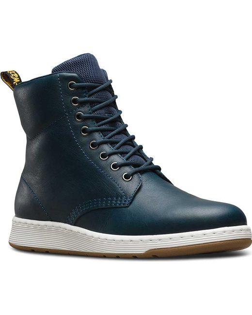 Dr. Martens - Blue Rigal 8-eye Boot - Lyst