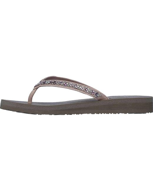 31403904ce3b ... Skechers - Multicolor Meditation Perfect 10 Thong Sandal - Lyst ...