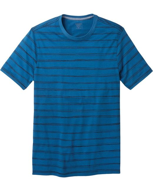 Toad&Co - Blue Piers Short Sleeve Tee for Men - Lyst