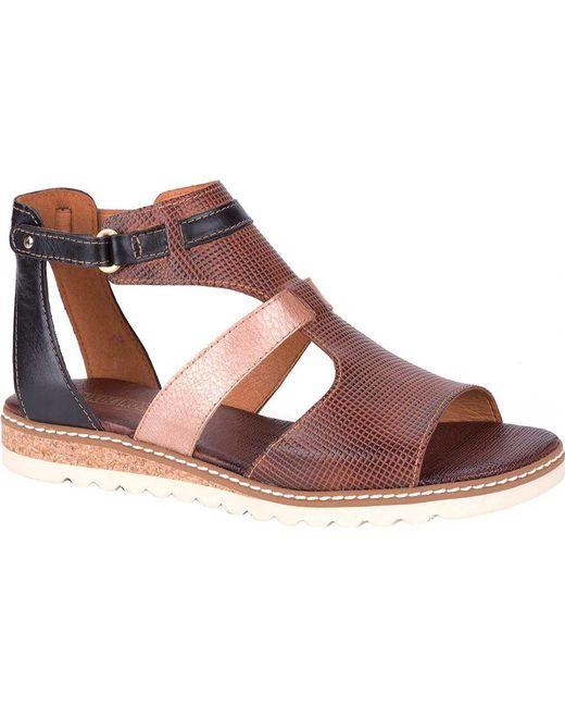 Pikolinos - Multicolor Alcudia T Strap Sandal Wil-0512c2 - Lyst