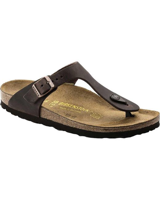 610ddf3f57c4 Birkenstock - Multicolor Gizeh Oiled Leather for Men - Lyst ...