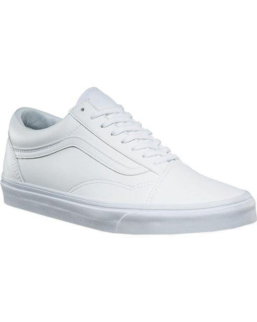 fbc4dd1643 Vans - White Old Skool Sneaker for Men - Lyst ...