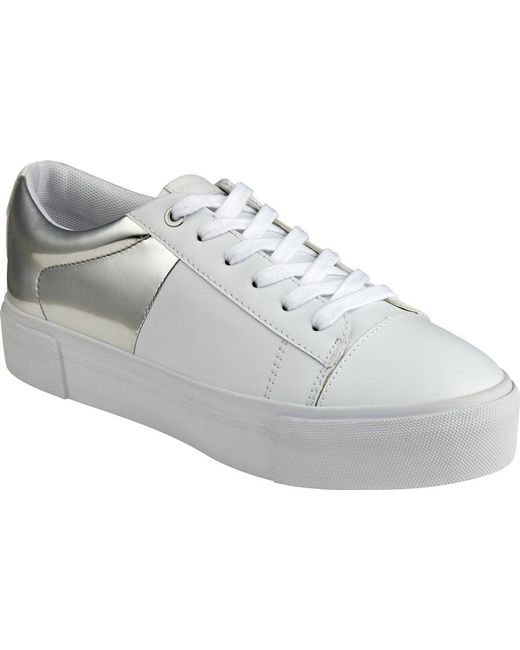 Marc Fisher - White Xena Sneaker - Lyst