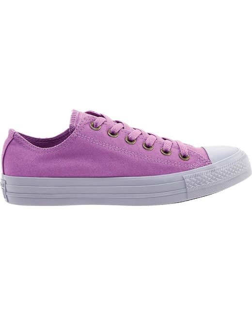 762e39c9231 ... Converse - Purple Chuck Taylor All Star Low Sneaker - Lyst ...