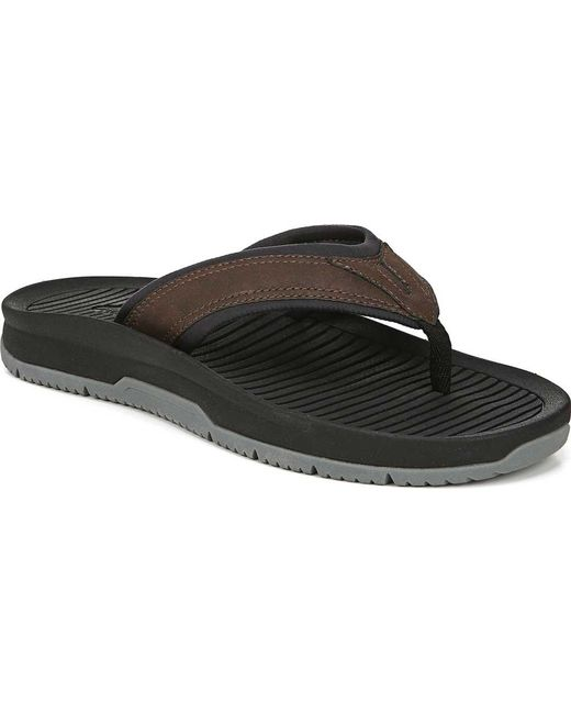 6246b8ae4 Dr. Scholls - Brown Reflect Thong Sandal for Men - Lyst ...
