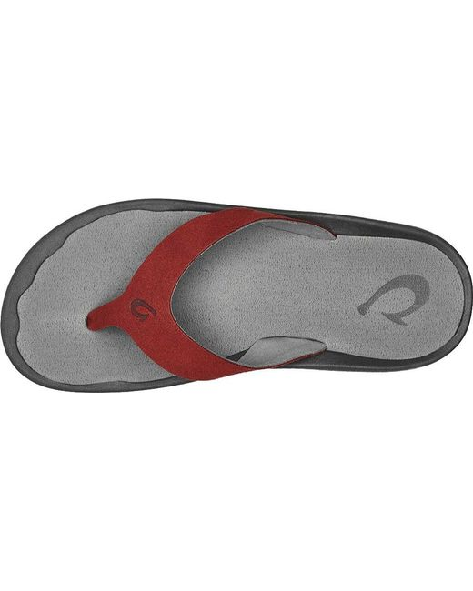 fccc9ea1af6 Lyst - Olukai Ohana Ho okahi Thong Sandal in Gray for Men - Save ...