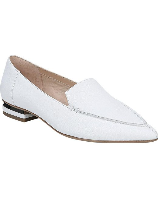 462992a487d Franco Sarto - White Starland Loafer - Lyst ...