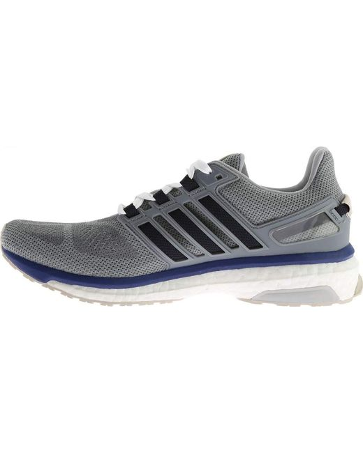 huge selection of 924ce f8e07 ... Adidas - Gray Energy Boost 3 Running Shoe for Men - Lyst ...