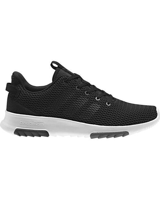 Adidas - Black Cloudfoam Racer Tr Shoes for Men - Lyst ...