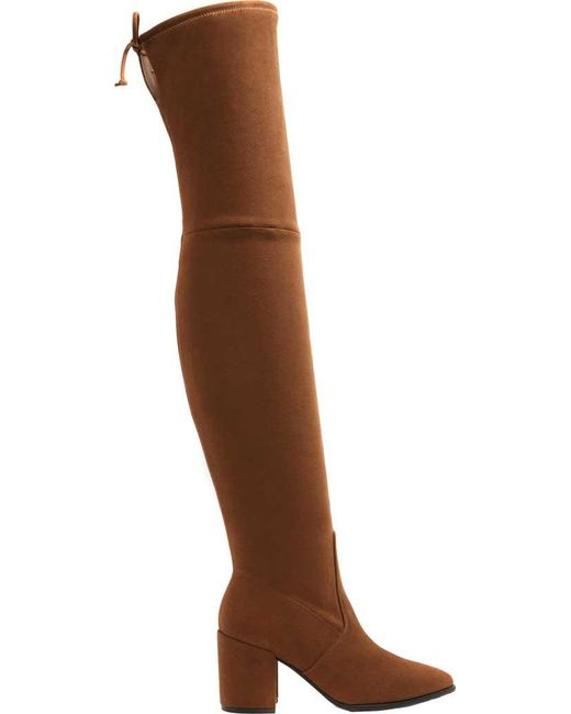 50f0b620abb ALDO - Brown Froredia Over The Knee Boot - Lyst ...