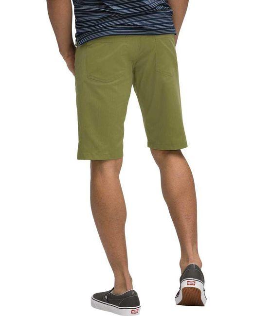 23a3981a76 ... Nau - Green Stretch Motil 5-pocket Short for Men - Lyst ...