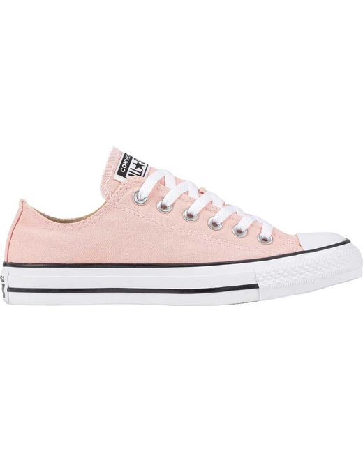 0c4f1fefc3d Converse - Pink Chuck Taylor All Star Low Sneaker - Lyst ...