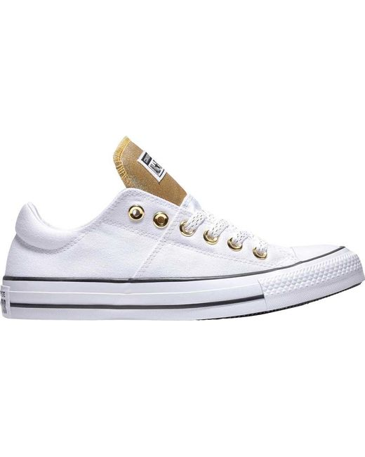 958635557c7878 Converse - White Chuck Taylor All Star Madison Low - Lyst ...