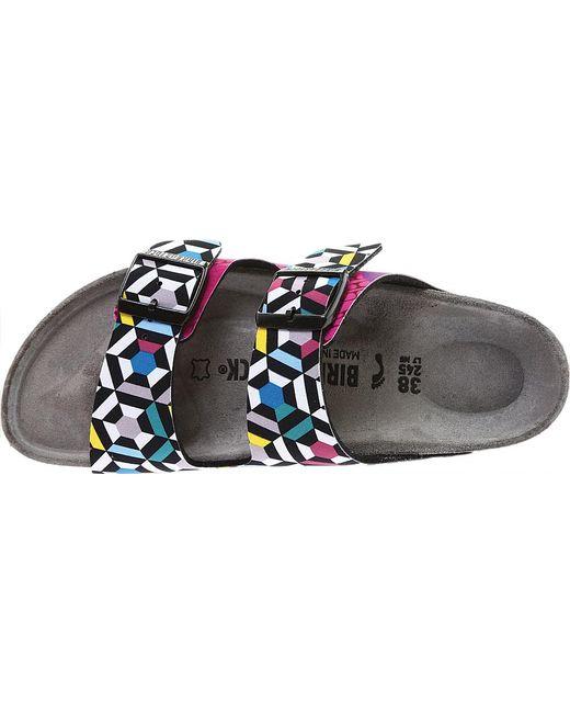 c5457c49577 ... Birkenstock - Multicolor Arizona Textile Slide - Lyst ...