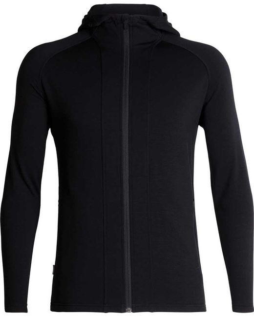 Icebreaker - Black Wander Hooded Jacket for Men - Lyst