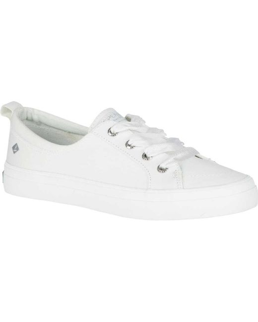 Sperry® Crest Vibe Satin Lace Sneaker