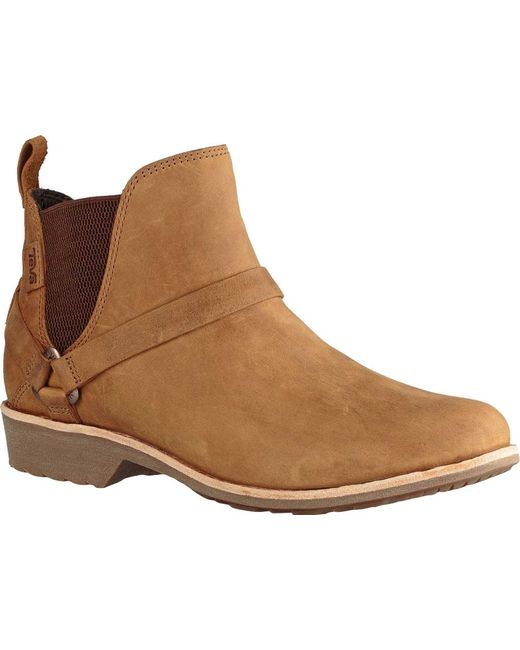 Teva - Brown De La Vina Dos Wp Chelsea Boot - Lyst
