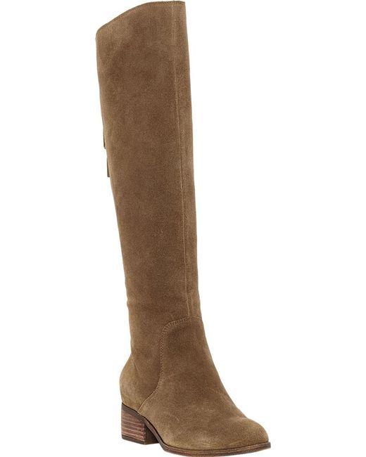 d61720ed049 Lucky Brand - Brown Lanesha Knee High Boot - Lyst ...