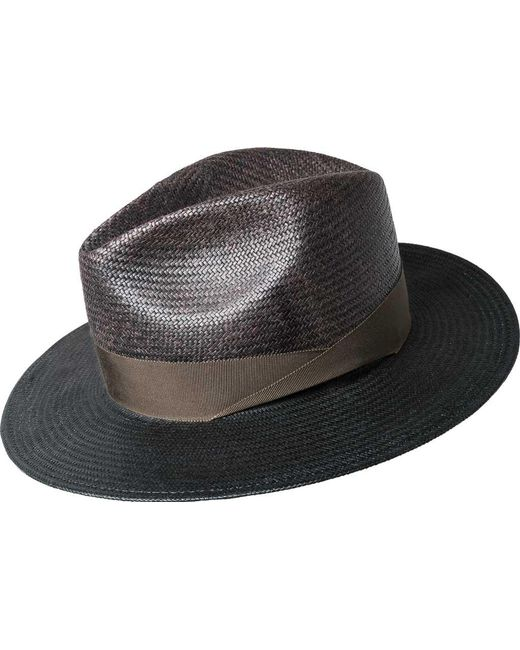 09a22a0335f0f6 Lyst - Bailey of Hollywood Maddow Fedora 63269 in Black for Men