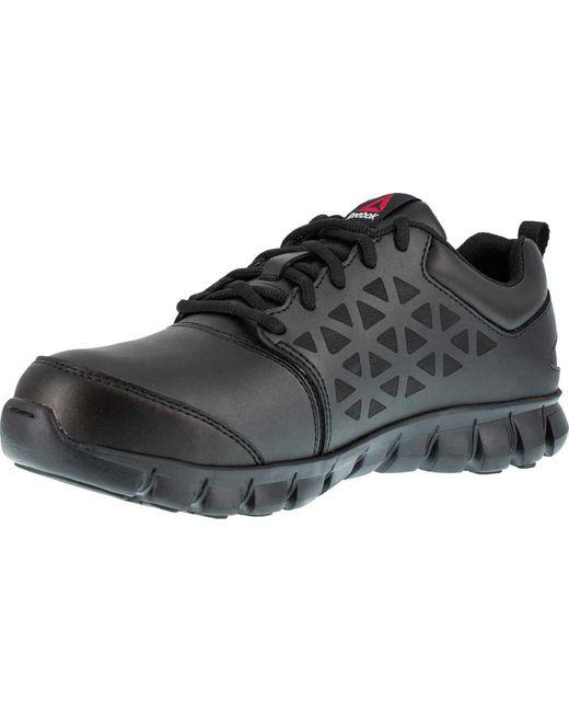 ... Reebok - Black Sublite Cushion Work Rb4046 Work Shoe for Men - Lyst ... c7e31d6fb