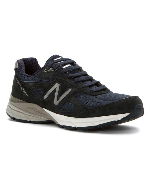 New Balance | Blue M990v4 for Men | Lyst