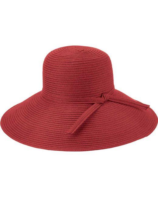 San Diego Hat Company - Red Poly Braid Sun Brim Hat Mxl1017 - Lyst