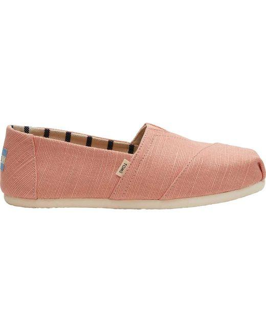 6bb367b6281 ... TOMS - Pink Seasonal Classic Alpargata - Lyst ...