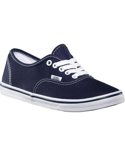 Vans - Blue Authentic Lo Pro Sneaker for Men - Lyst