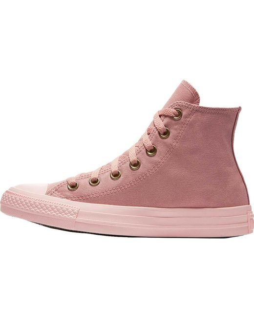 a8411c1736c7dd ... Converse - Pink Chuck Taylor All Star High Top Sneaker - Lyst ...