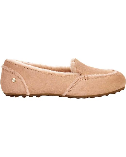 3d66fec7b3a Lyst - Ugg Hailey Moccasin Slipper in Natural