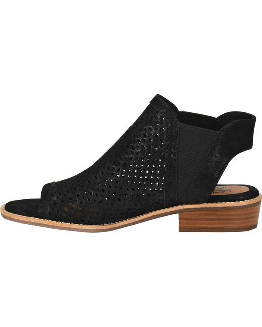 9d34c450d215 ... Söfft - Black Nalda (anthracite Distressed Foil Suede) Women s 1-2 Inch  Heel ...