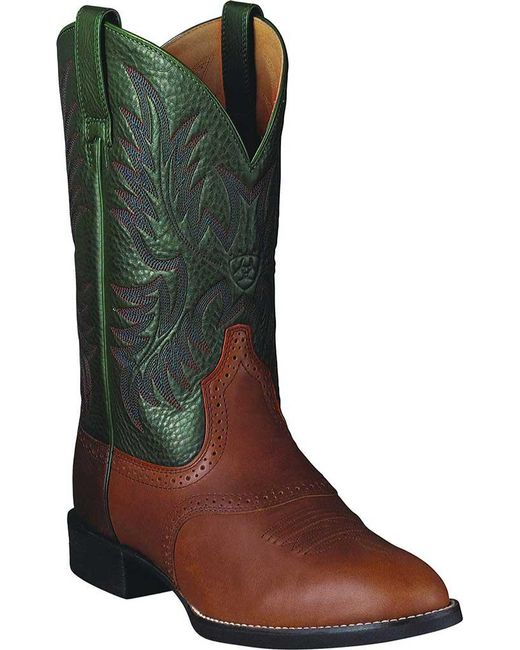 Ariat - Green Heritage Stockman for Men - Lyst