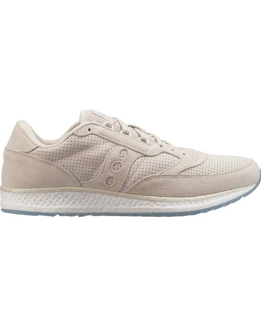 Saucony | Multicolor Freedom Runner Suede Sneaker for Men | Lyst ...