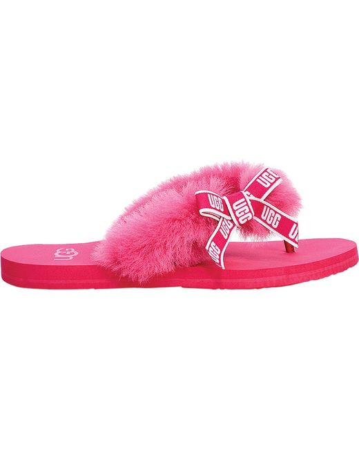 be6179562f56 Ugg - Pink Sunset Graphic Flip Flop - Lyst ...