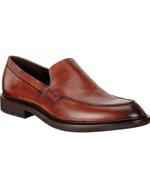 Ecco Men's Vitrus Ii Apron Toe Loafer
