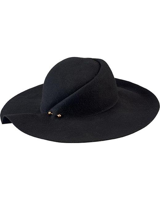 San Diego Hat Company - Black Pleated Crown Floppy Hat Wfh8057 - Lyst