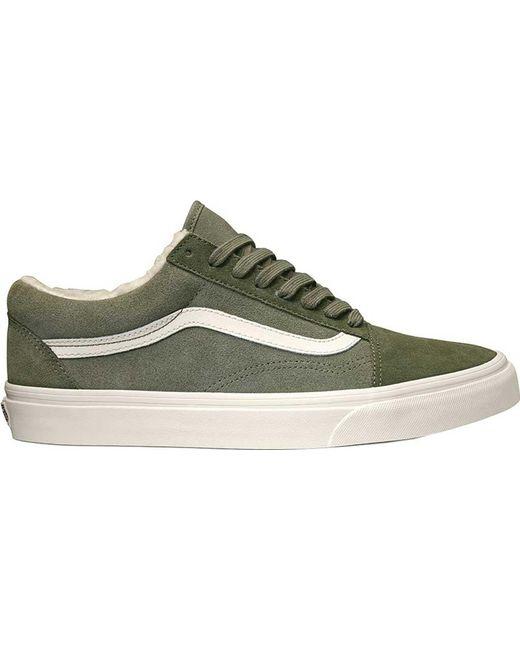 1af2f16bac Lyst - Vans Old Skool Sneaker in Green for Men