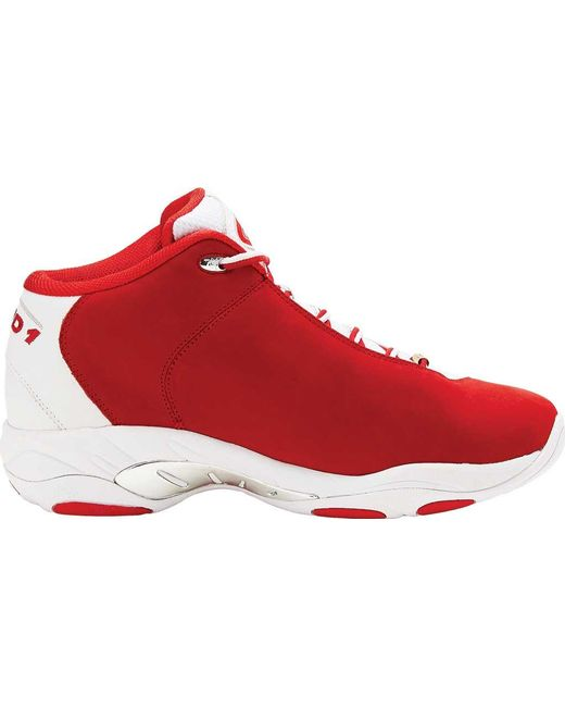4f40f193786 AND1 Tai Chi Mid Sneaker in Red for Men - Lyst
